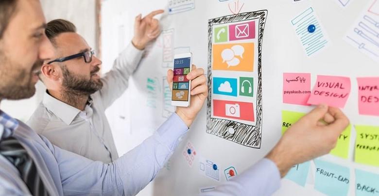عناصر بصری در طراحی وب سایت