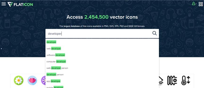 دانلود آیکون از سایت Icons8