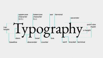 اهمیت تایپوگرافی در طراحی سایت